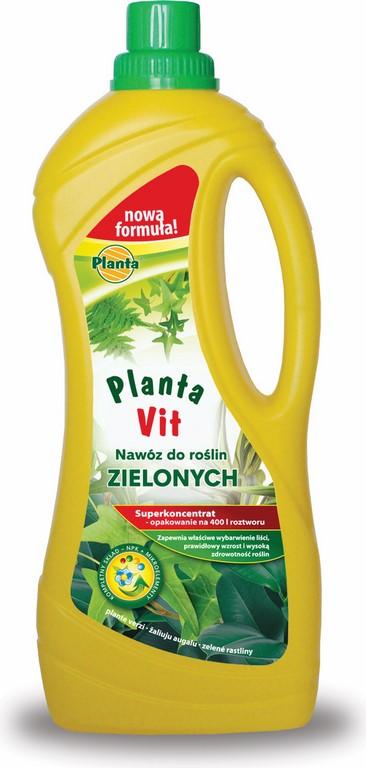 nawóz do roślin zielonych Planta Vit 1000ml