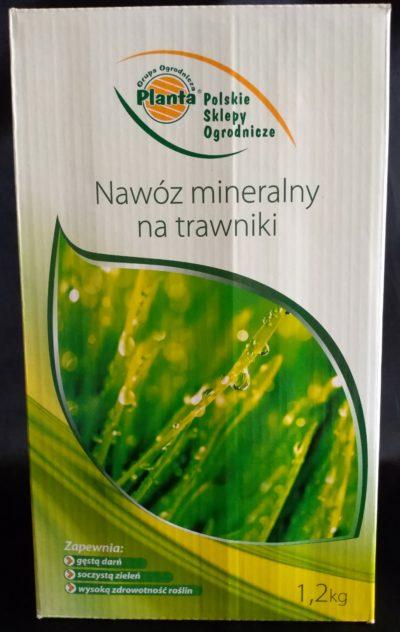 nawóz mineralny na trawnik 1,2kg GOP